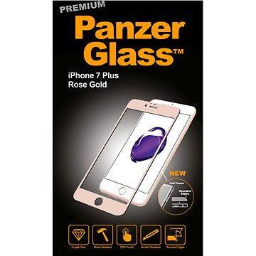 PanzerGlass Premium pro iPhone 7 Plus růžovo zlaté (2607)