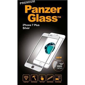 PanzerGlass Premium pro iPhone 7 Plus stříbrné (2605)