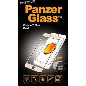 PanzerGlass Premium pro iPhone 7 Plus zlaté (2606)