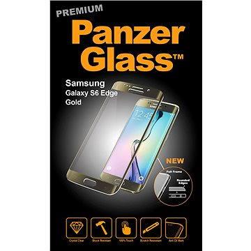 PanzerGlass Premium pro Samsung Galaxy S6 edge zlaté (1025)