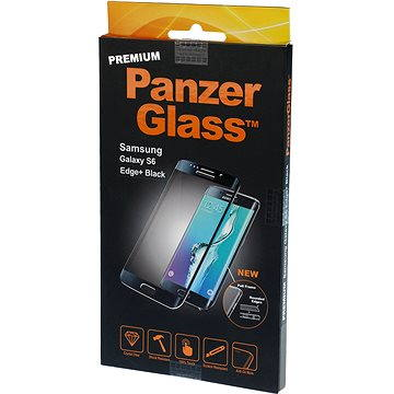 PanzerGlass Premium pro Samsung Galaxy S6 edge+ černé (1023)