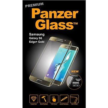 PanzerGlass Premium pro Samsung Galaxy S6 edge+ zlaté (1022)