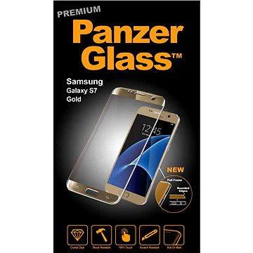 PanzerGlass Premium pro Samsung Galaxy S7 zlaté (1055)