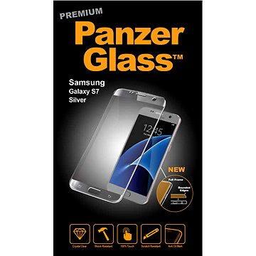 PanzerGlass Premium pro Samsung Galaxy S7 stříbrné (1056)