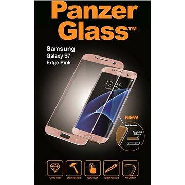 PanzerGlass Premium pro Samsung Galaxy S7 edge růžové (1566)
