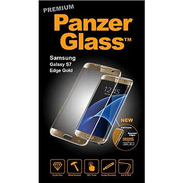 PanzerGlass Premium pro Samsung Galaxy S7 edge zlaté (1049)