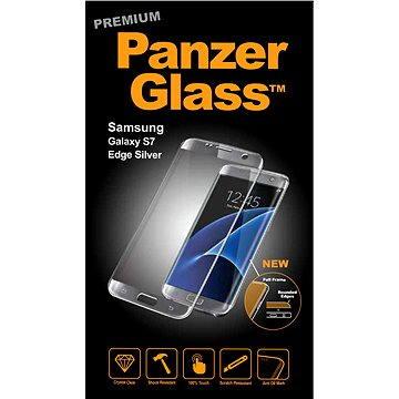PanzerGlass Premium pro Samsung Galaxy S7 edge stříbrné (1052)