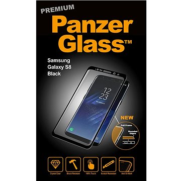 PanzerGlass Premium pro Samsung Galaxy S8 černá (7114)