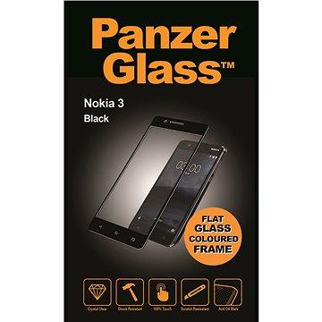 PanzerGlass pro Nokia 3, černé (6755)