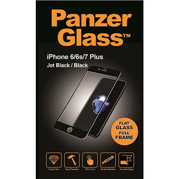 PanzerGlass Edge-to-Edge pro Apple iPhone 6/6s/7 Plus černé (CaseFriendly) (2619)