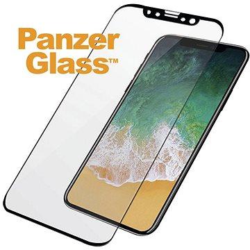 PanzerGlass pro Apple iPhone X, Černé Case friendly (2625)