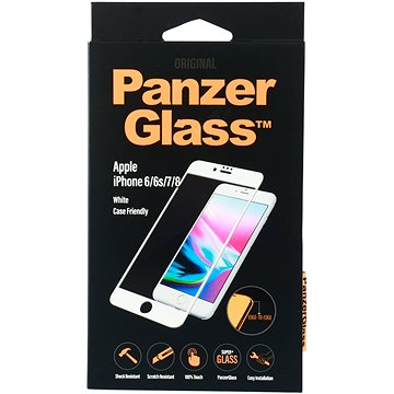 PanzerGlass pro iPhone 6/6s/7/8 White (2620)