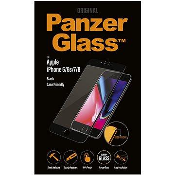 PanzerGlass Edge-to-Edge pro Apple iPhone 6/6s/7/8 černé (CaseFriendly) (2618)