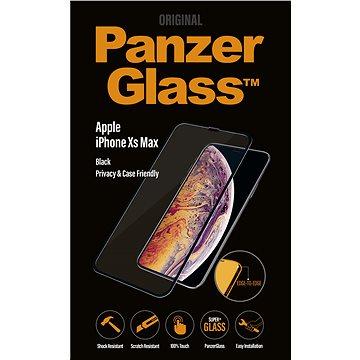 PanzerGlass Edge-to-Edge Privacy pro Apple iPhone XS Max čiré (P2643)