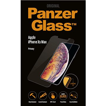 PanzerGlass Standard Privacy pro Apple iPhone XS Max čiré (P2639)