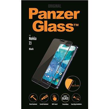 PanzerGlass Edge-to-Edge pro Nokia 7.1 černé (6770)