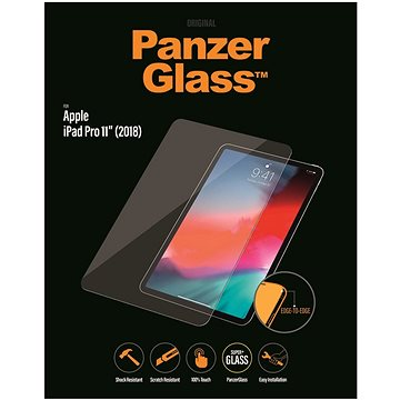 "PanzerGlass Edge-to-Edge pro Apple iPad 11"" (2018) čiré (2655)"
