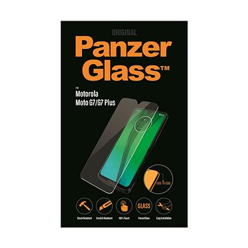 PanzerGlass Edge-to-Edge pro Motorola Moto G7/G7 Plus čiré (6518)