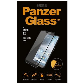 PanzerGlass Edge-to-Edge pro Nokia 4.2 černé (6776)