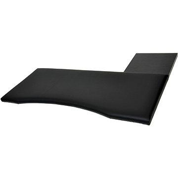 Podložka ergonomická ke klávesnici a myši, velikost 1, černá (N1C)