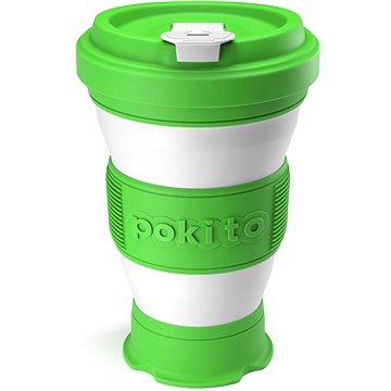 POKITO Skládací šálek na kávu 3v1 limetový (LG88331)