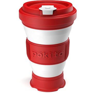 POKITO Skládací šálek na kávu 3v1 třešňový (CR88332)