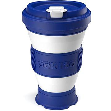 POKITO Skládací šálek na kávu 3v1 borůvkový (MB88333)