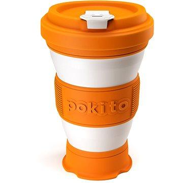 POKITO Skládací šálek na kávu 3v1 dýňový (OP88337)