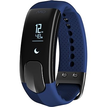 Fitness náramek Mio SLICE celodenní měřič tepu a aktivity modrý (MI-60P-NAV-SMA)