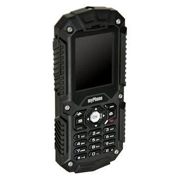 MyPhone Hammer černý Dual SIM (TELMYHHAMBK)