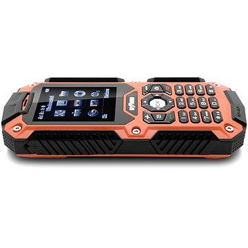 MyPhone Hammer oranžovo-černý Dual SIM (TELMYHHAMOR)