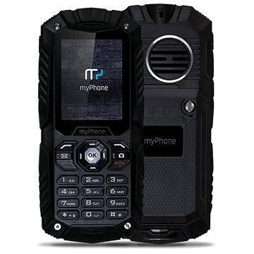 MyPhone Hammer Plus černý (TELMYHHAPBK)