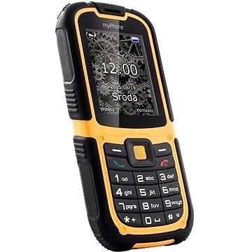 MyPhone Hammer 2 oranžový Dual SIM (TELMYHHA2OR)