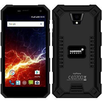 MyPhone Hammer Energy LTE černý (TELMYAHAENERBK)