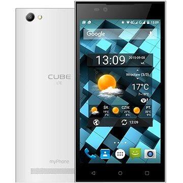 MyPhone CUBE LTE bílý (TELMYACUBELTEWH)