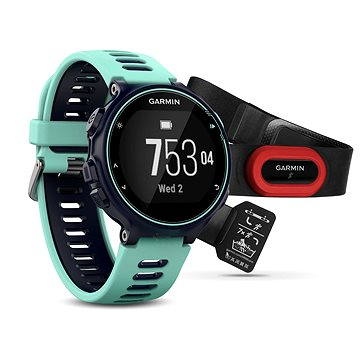 Sporttester Garmin Forerunner 735XT Run Bundle Blue (010-01614-16)