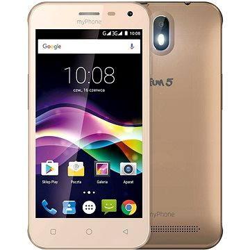 MyPhone Fun 5 zlatý (TELMYAFUN5GO)