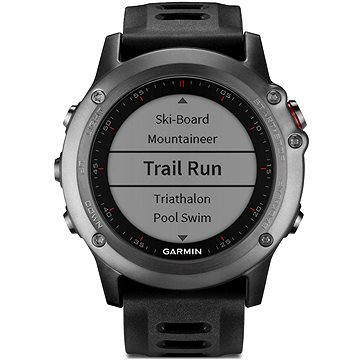 Chytré hodinky Garmin Fenix 3 Gray (010-01338-01)