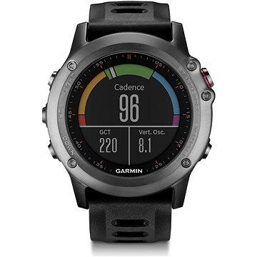 Chytré hodinky Garmin Fenix 3 Gray (PP5779atopo) + ZDARMA Paměťová karta Garmin Topo Czech PRO 2015, microSD/SD karta