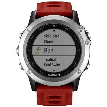 Chytré hodinky Garmin Fenix 3 Silver (010-01338-06)