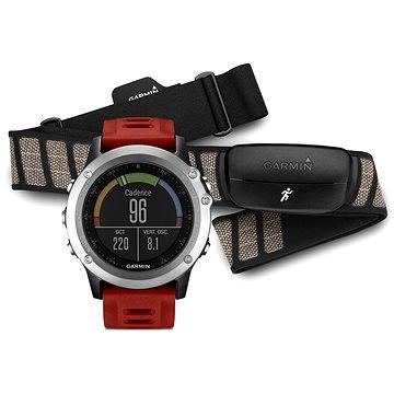 Chytré hodinky Garmin Fenix 3 Silver Performer (010-01338-16)