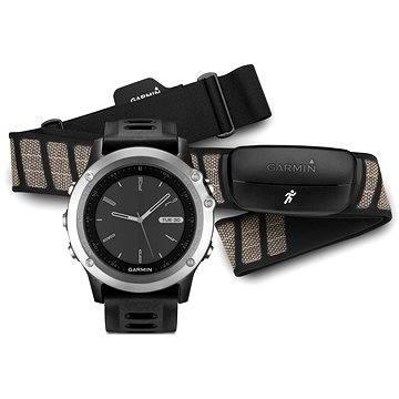 Chytré hodinky Garmin Fenix 3 Silver/ Black Performer (010-01338-86)