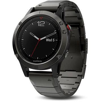 Garmin Fenix 5 Sapphire Gray Optic Metal band (010-01688-21)