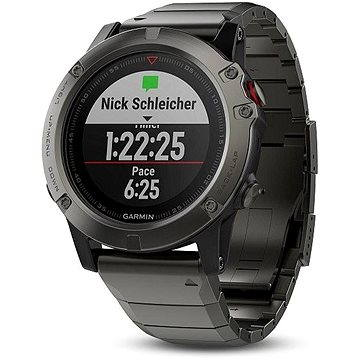 Garmin Fenix 5X Sapphire Gray Optic Metal band (010-01733-03)