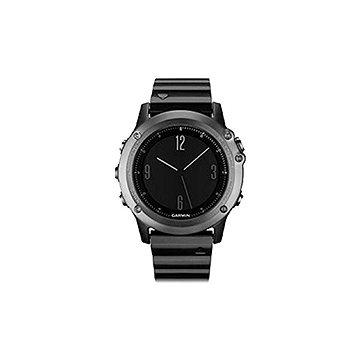 Chytré hodinky Garmin Fenix 3 Sapphire Gray (010-01338-21) + ZDARMA Proteinová tyčinka MAXSPORT Protein vanilka 60g