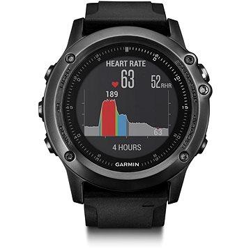 Chytré hodinky Garmin Fenix 3 Sapphire Gray Optic (010-01338-71)