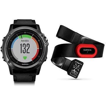 Chytré hodinky Garmin Fenix 3 Gray Sapphire Optic Performer (010-01338-74) + ZDARMA Proteinová tyčinka MAXSPORT Protein vanilka 60g