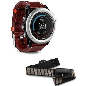 Chytré hodinky Garmin Fenix 3 Sapphire Silver Performer (010-01338-61)