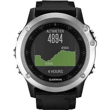 Chytré hodinky Garmin Fenix 3 Silver Optic (010-01338-77) + ZDARMA Proteinová tyčinka MAXSPORT Protein vanilka 60g