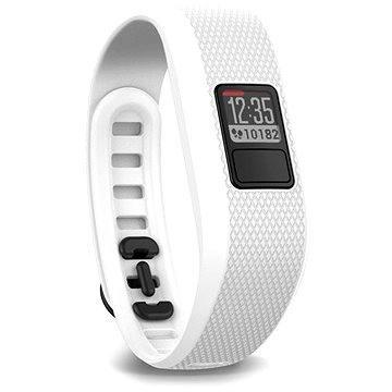 Fitness náramek Garmin vivofit3 White (L) (010-01608-07)